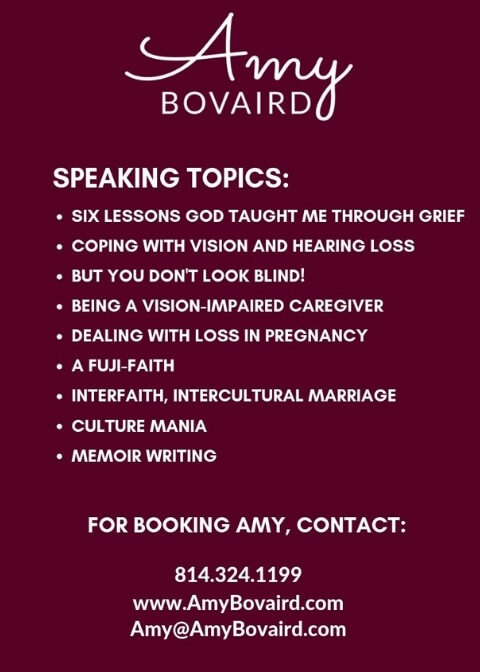 Amy Bovaird Speaking Topics and Contact Info