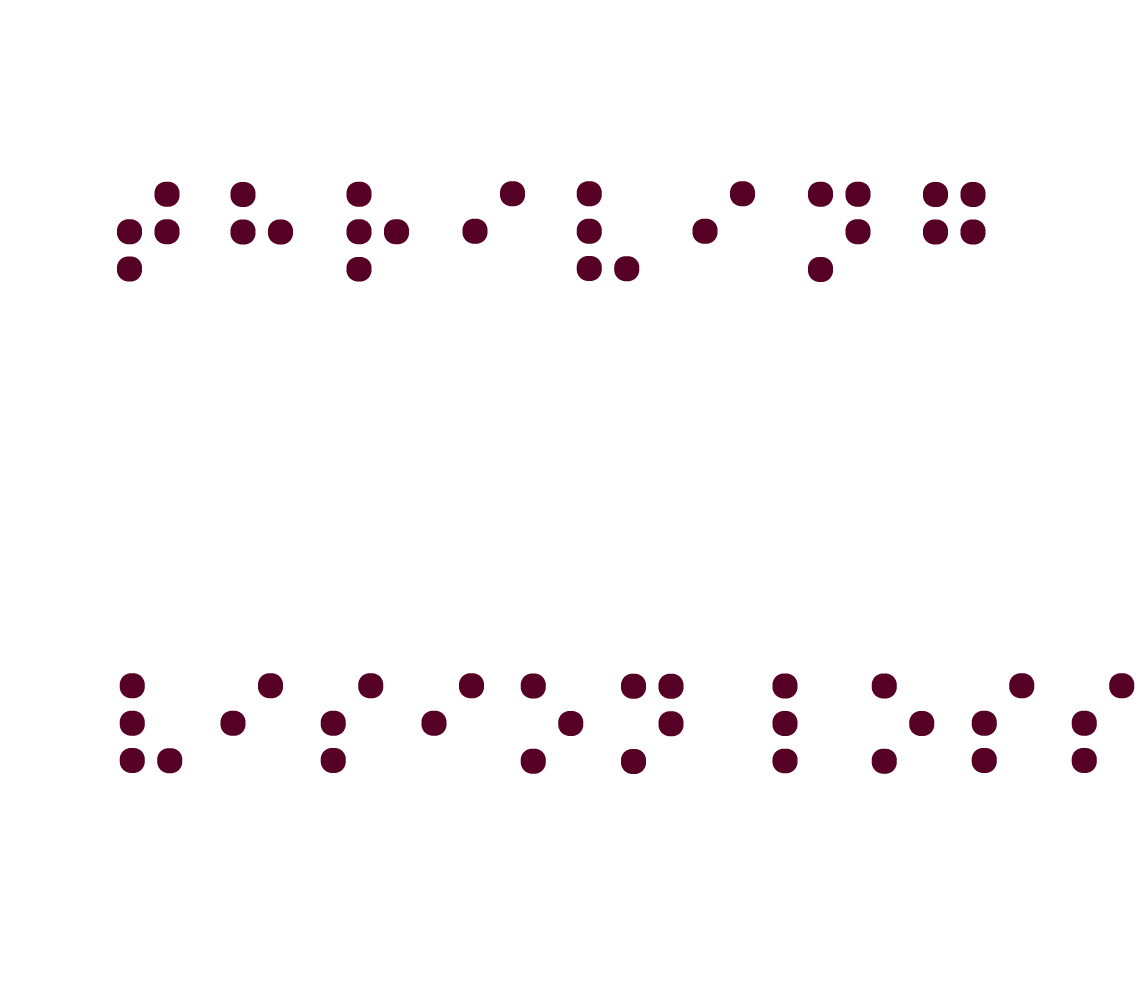 thriving with Vision Loss braille