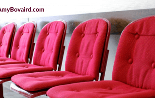 Trip to the Dentist blog post image of a waiting room - Amy Bovaird