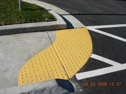 road-crossing-with-tactile-bumps