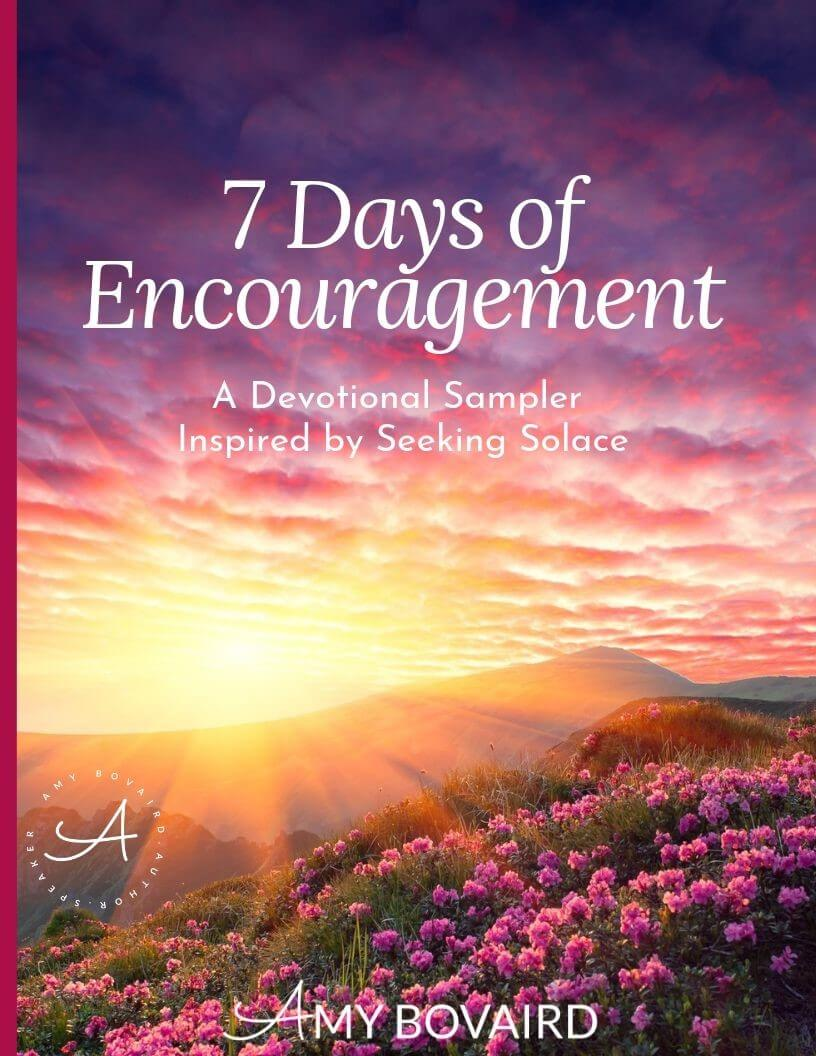 7 Days of Encouragement Cover - Amy Bovaird