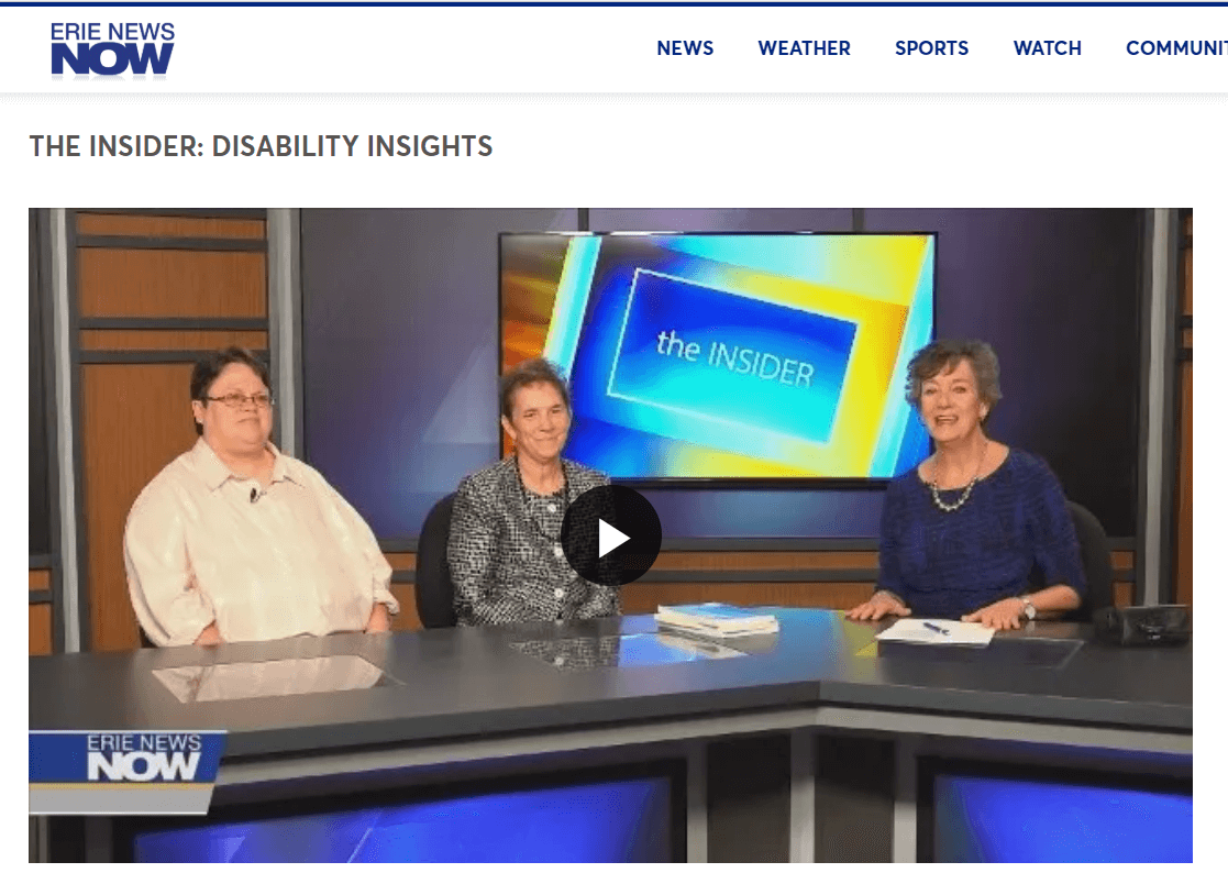 Erie News Now - The Insider Interview for Disability InSIGHTS