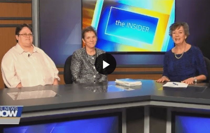 Erie News Now The Insider Interview with Amy Bovaird and Aimee Eddy Gross promoting Disability InSIGHTS