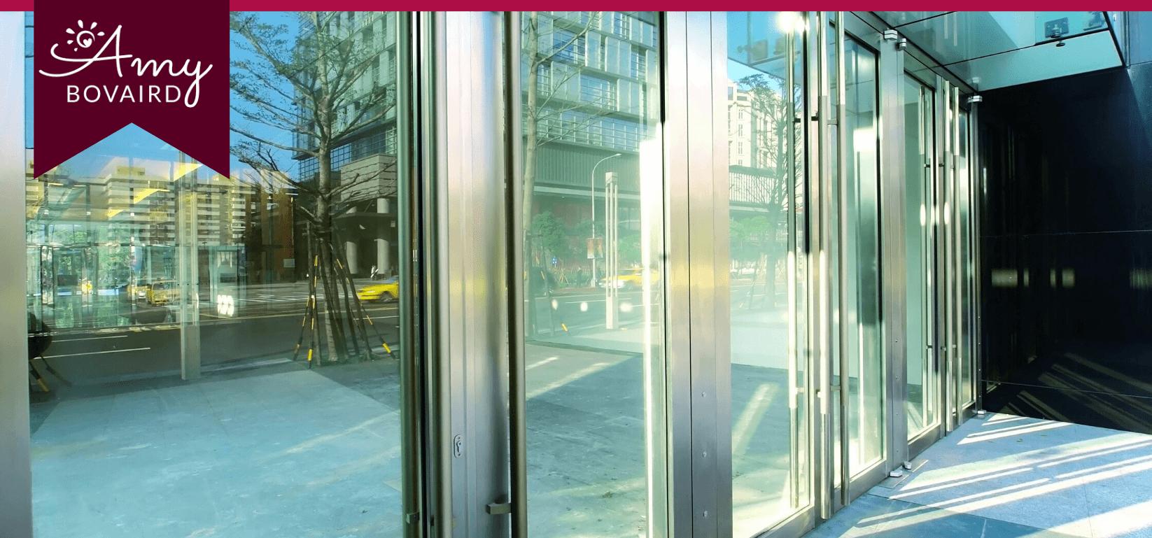 transparent office doors