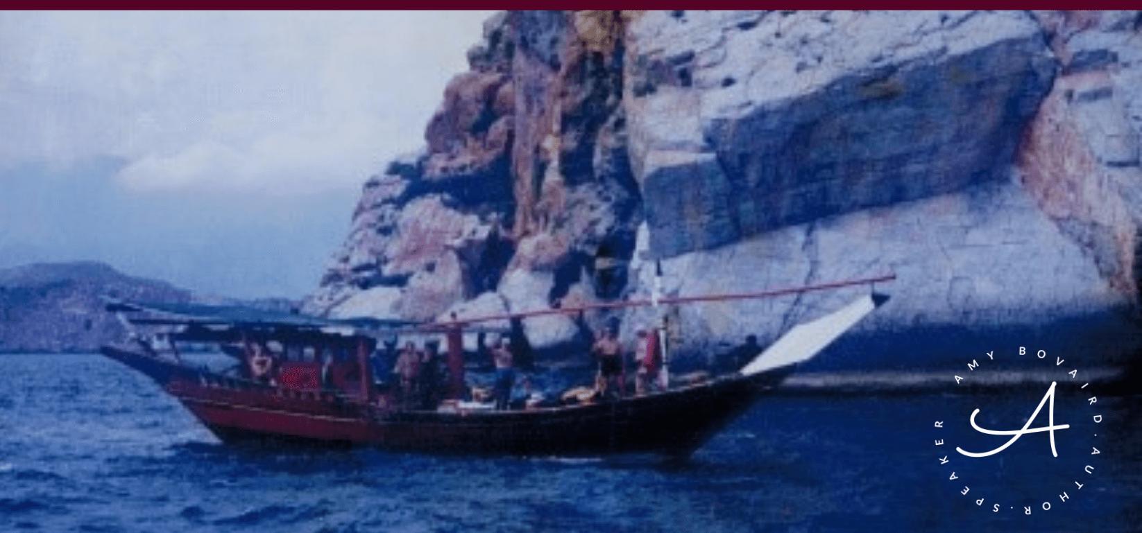 Dhow-boat-in-Musandam-trip